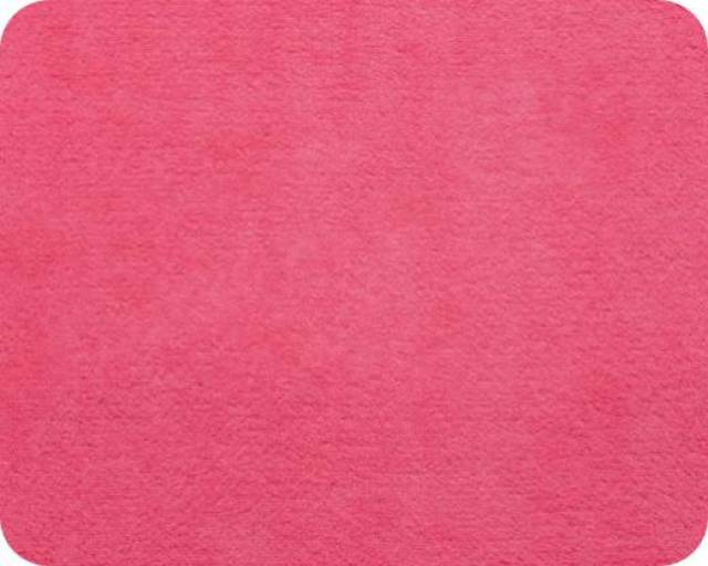 Fuchsia Plush Fleece Fabric