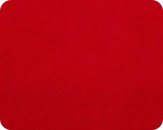 Red Plush Fleece Fabric