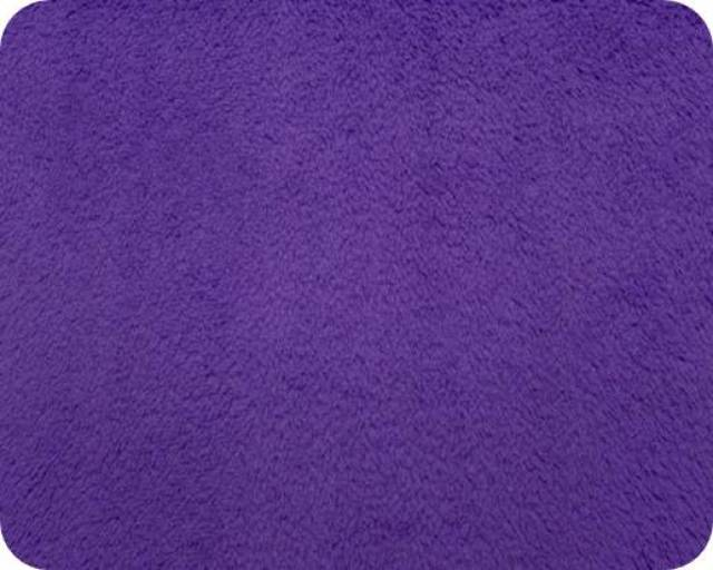 Purple Plush Fleece Fabric