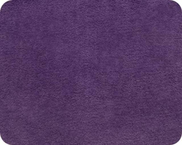 Violet Plush Fleece Fabric