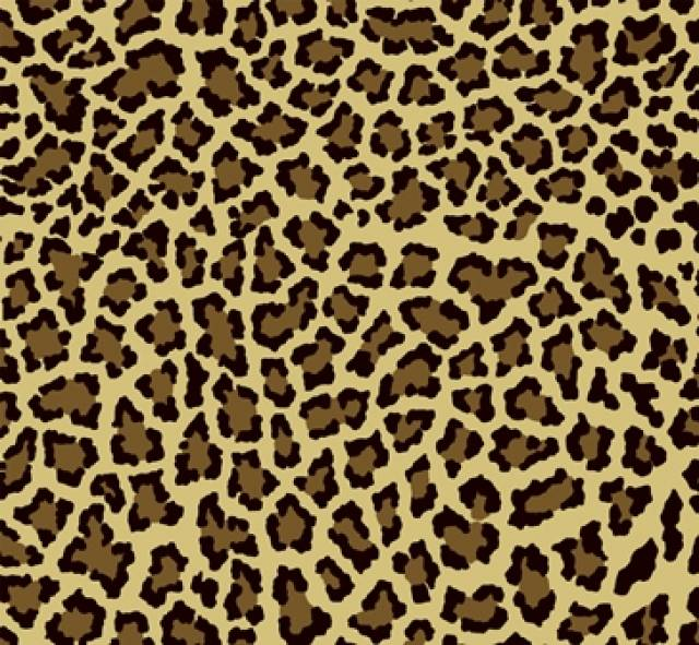Brown Leopard Fleece Fabric