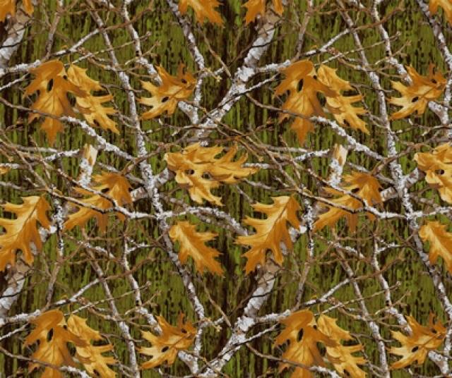 Maple Leaves & Branches Fleece