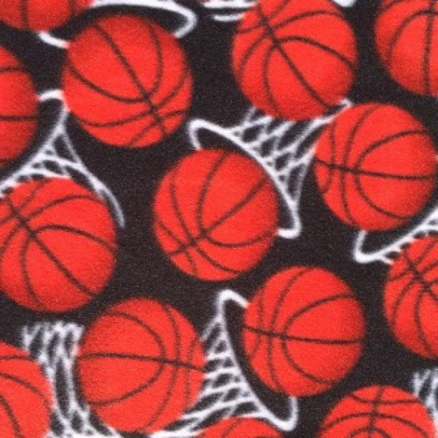 Basketball Hoops Allover Fleece