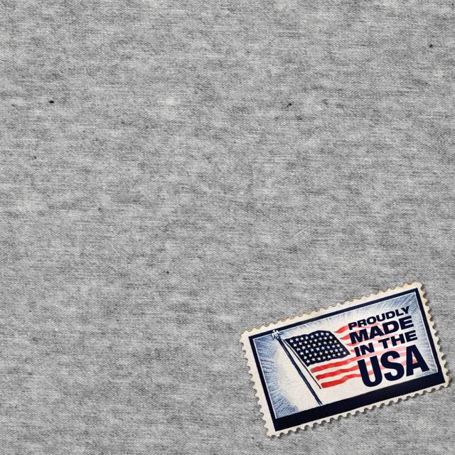 Heather Grey Sweatshirt Fleece Fabric