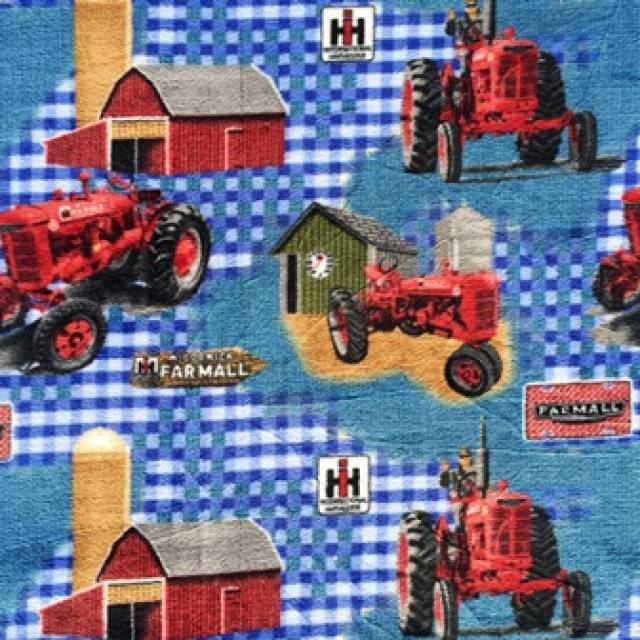 International Harvester Farmall Blue Fleece