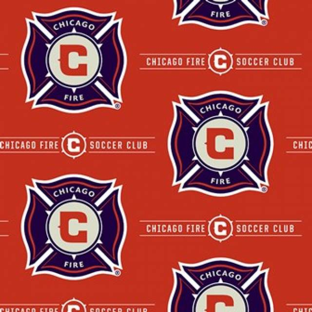 Chicago Fire Soccer Team Fleece