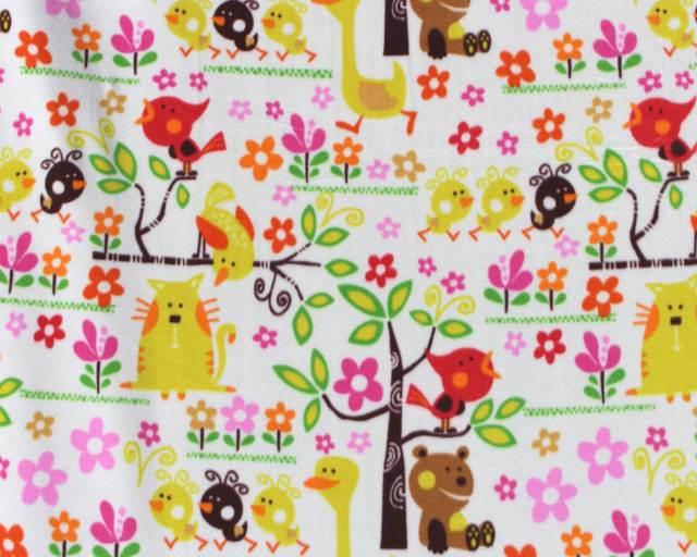 Baby Fun Animals Fleece