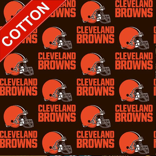 Cleveland Browns NFL Cotton Fabric