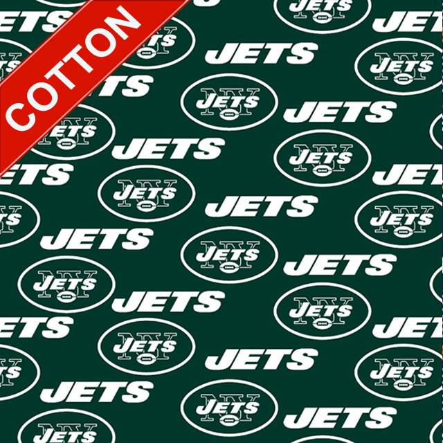 New York Jets NFL Cotton Fabric