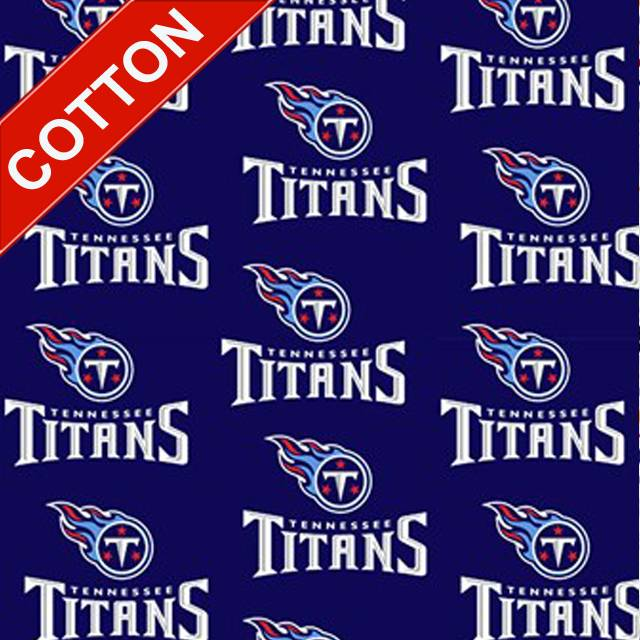 Tennessee Titans NFL Cotton Fabric