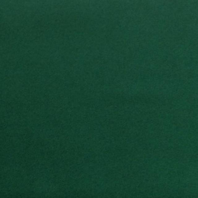 Hunter Green Polyester Solid Poplin