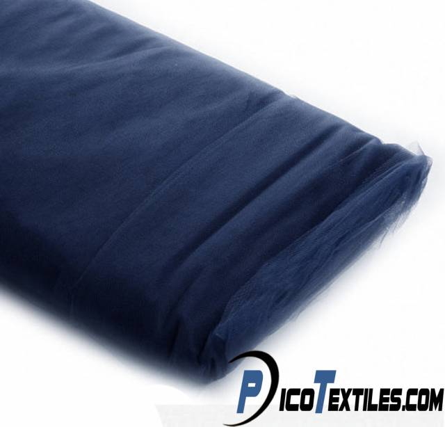 Navy Tulle Fabric by the Bolt