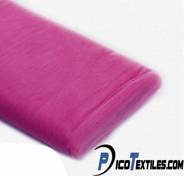 Magenta Tulle Fabric by the Bolt