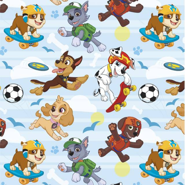 Paw Patrol Playing In Park Fleece