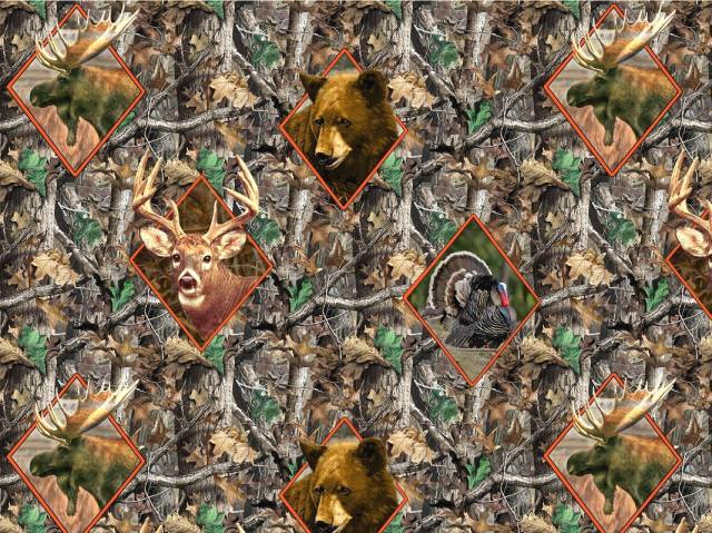 Realtree Diamond Heads Fleece