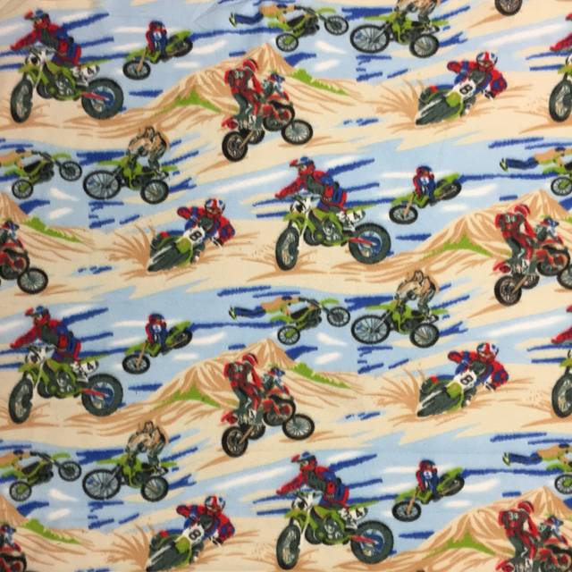 Motorcycle Motor cross Fleece