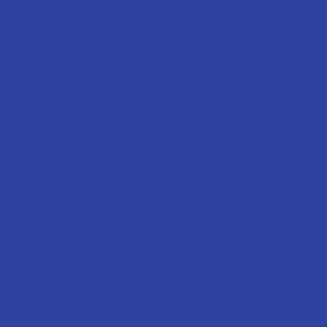 Royal Blue Polyester Solid Poplin
