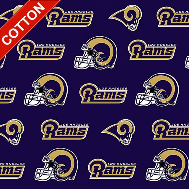 Los Angeles Rams NFL Cotton Fabric