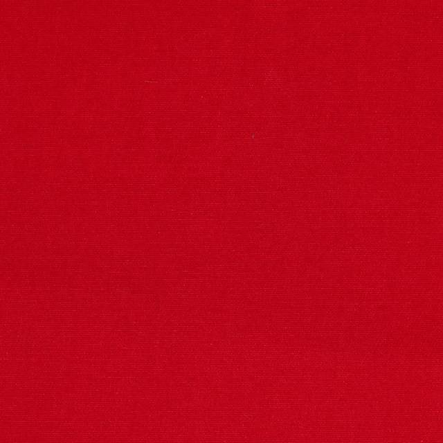 Red Poly Cotton Twill Fabric
