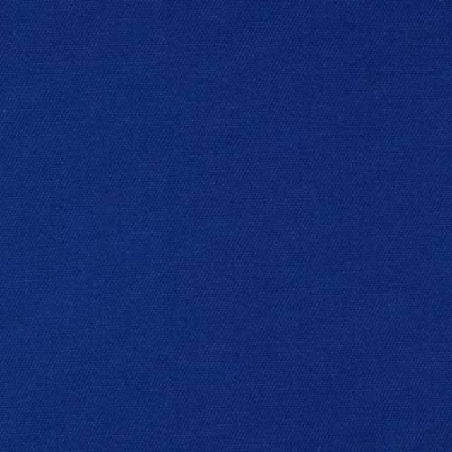 Royal Blue Poly Cotton Twill Fabric