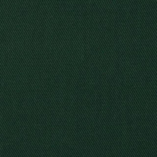 Hunter Green Poly Cotton Twill Fabric