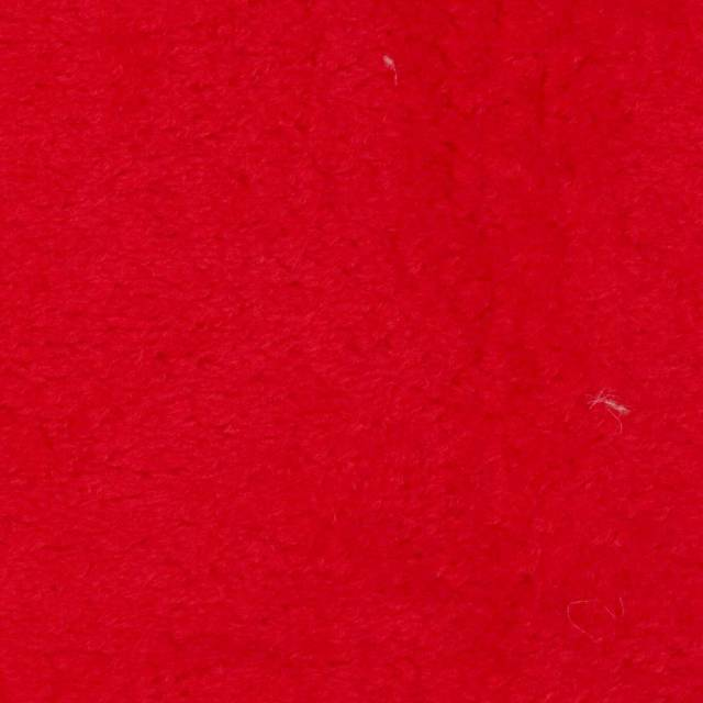 Red Solid Anti-Pill Fleece Fabric
