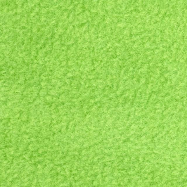Lime Solid Anti-Pill Fleece Fabric