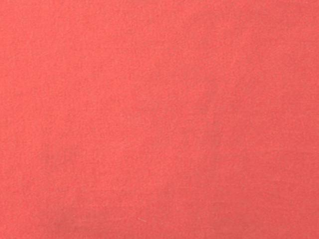 Coral Cotton Spandex Jersey Fabric