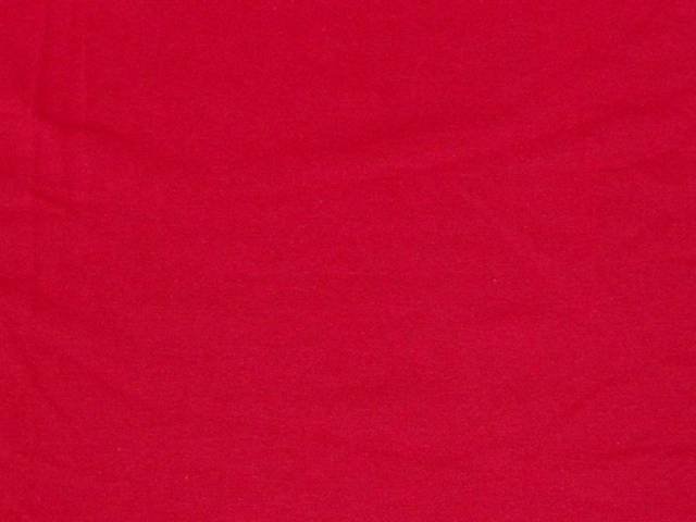 Red Cotton Spandex Jersey Fabric