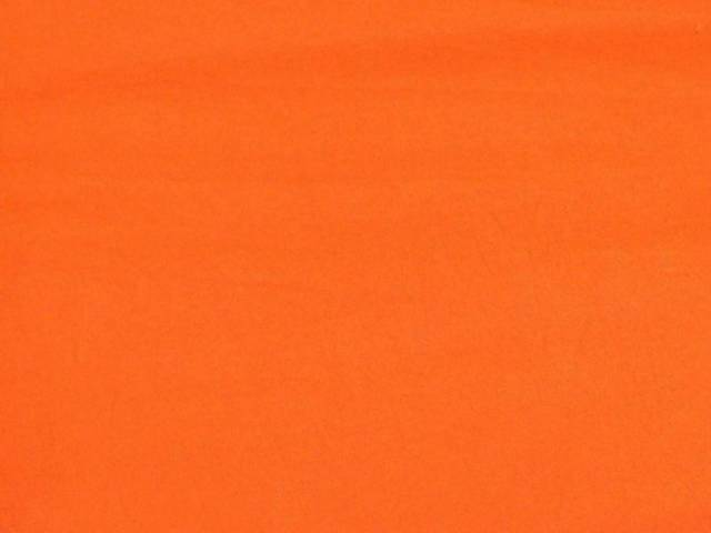 Orange Cotton Spandex Jersey Fabric