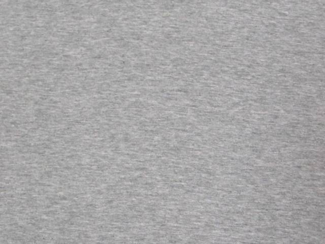 Heather Gray Cotton Spandex Jersey Fabric