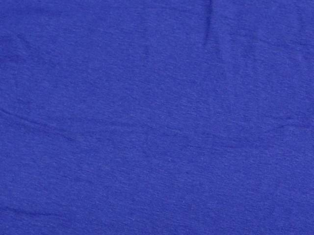 Royal Blue Cotton Spandex Jersey Fabric