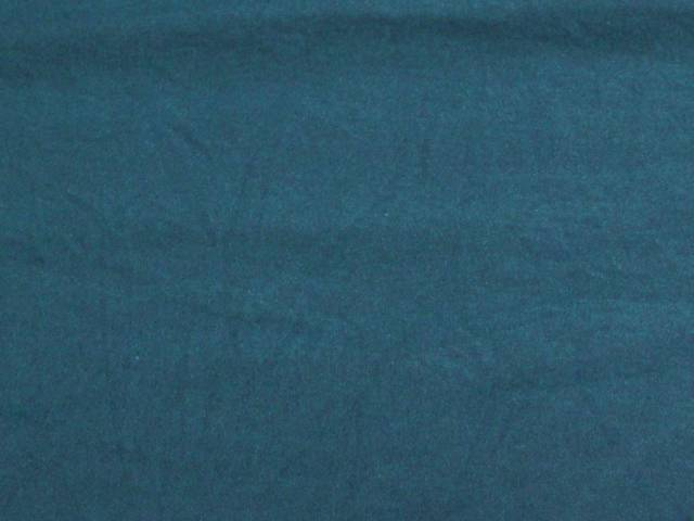 Teal Cotton Spandex Jersey Fabric