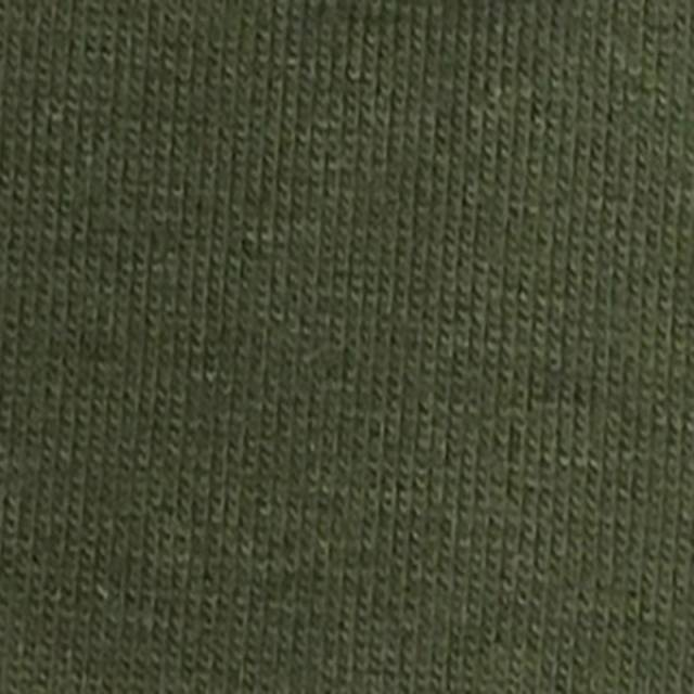 Olive Cotton Spandex Jersey Fabric