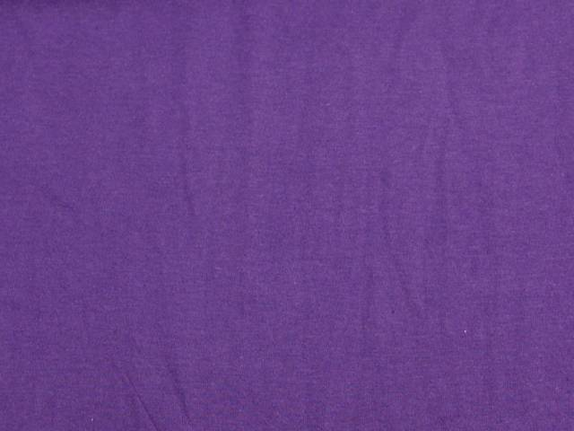 Purple Cotton Spandex Jersey Fabric