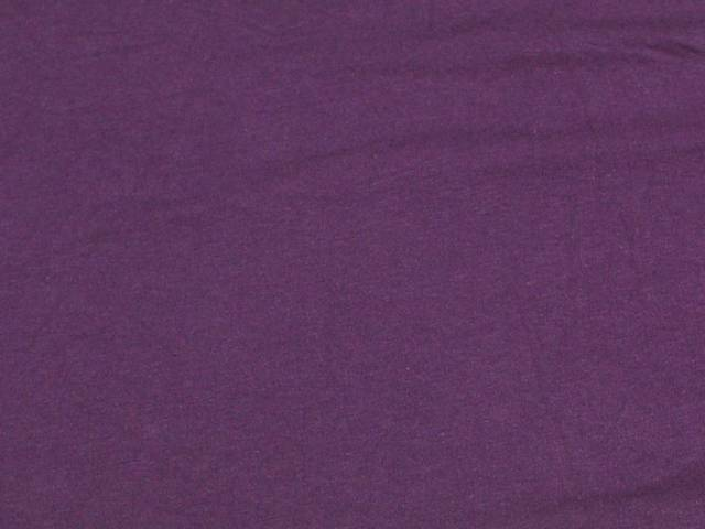 Plum Cotton Spandex Jersey Fabric
