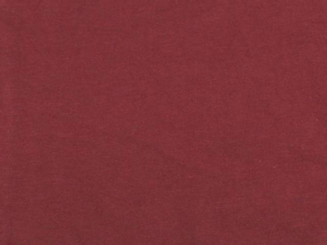 Burgundy Cotton Spandex Jersey Fabric