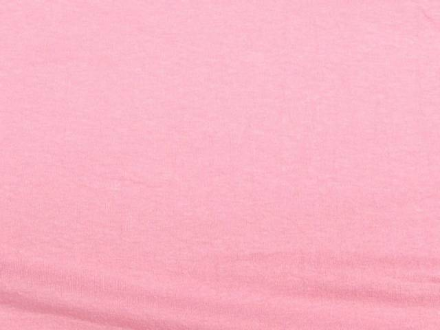 Baby Pink Cotton Spandex Jersey Fabric