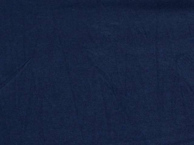 Navy Cotton Spandex Jersey Fabric
