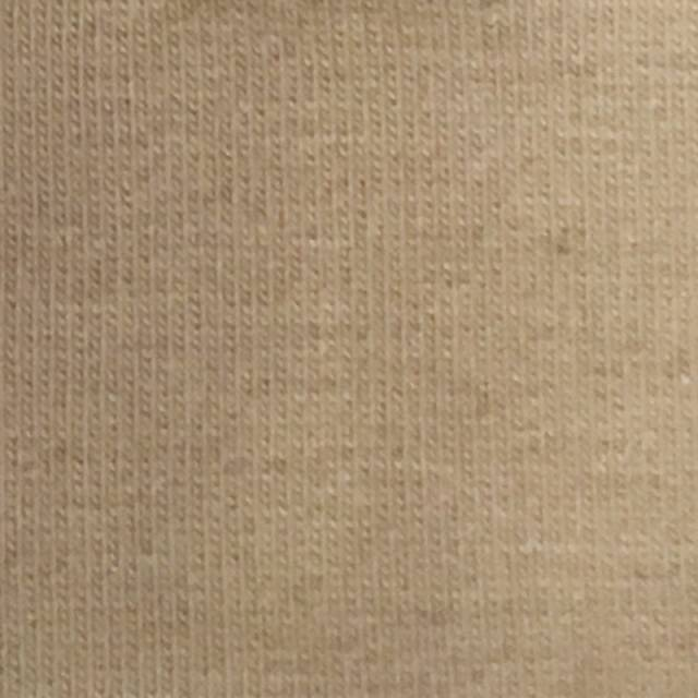 Khaki Cotton Spandex Jersey Fabric