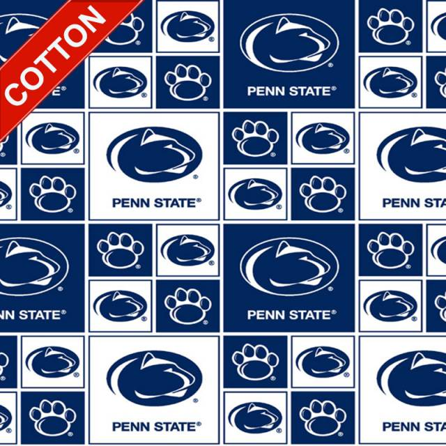 Penn State University Nittany Lions Cotton Fabric