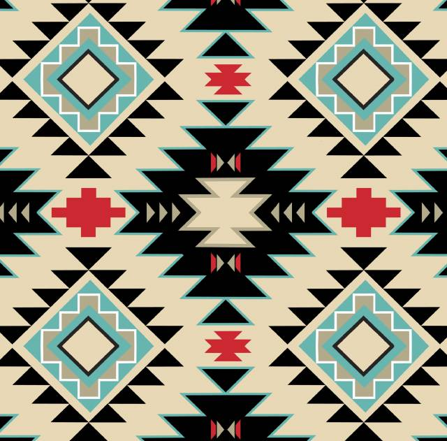 Southwest Native Argyle Fleece