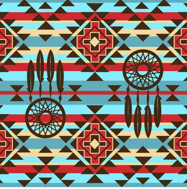 Ethnic DreamCatcher Fleece