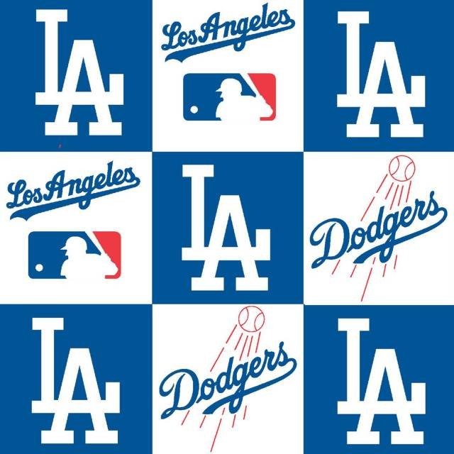 MLB Los Angeles Dodgers Allover Fleece