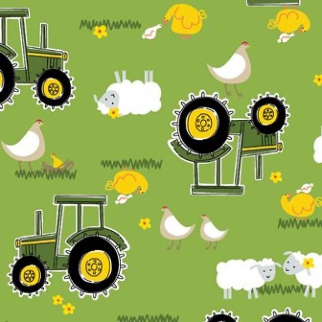 Fleece tractor fabric – Modiga jackor