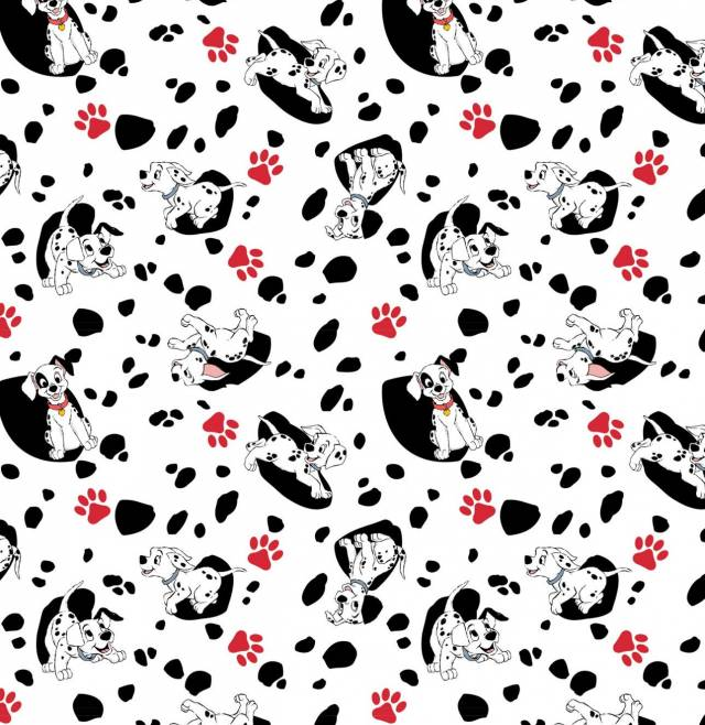 Disney 101 Dalmations Fleece Fabric