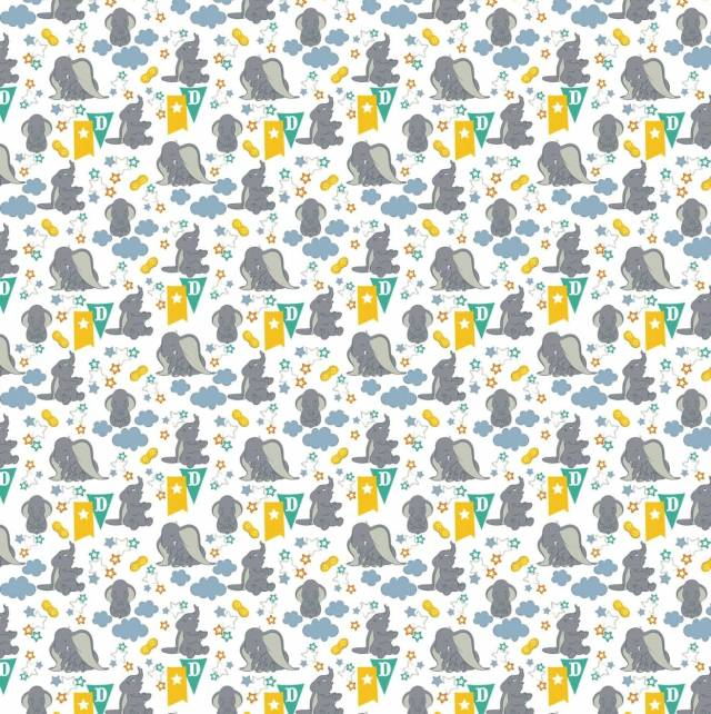 Disney Dumbo Fleece Fabric