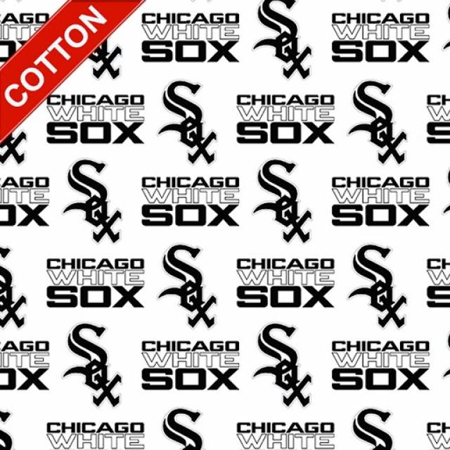 Chicago White Sox MLB Cotton Fabric