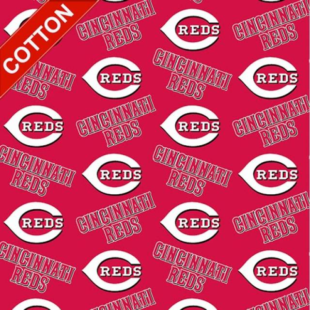 Cincinnati Reds MLB Cotton Fabric