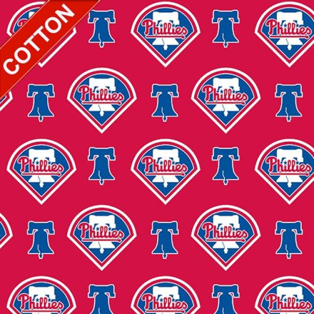 Philadelphia Phillies MLB Cotton Fabric
